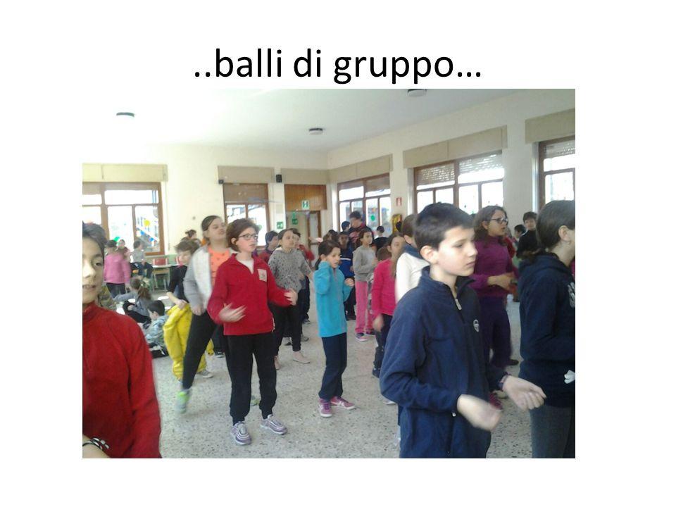 ..balli di gruppo…