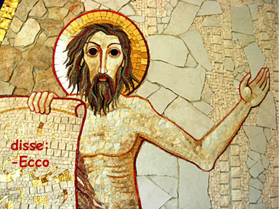 Fissando lo sguardo su di lui, Gesù disse: «Tu sei Simone, il figlio di Giovanni;
