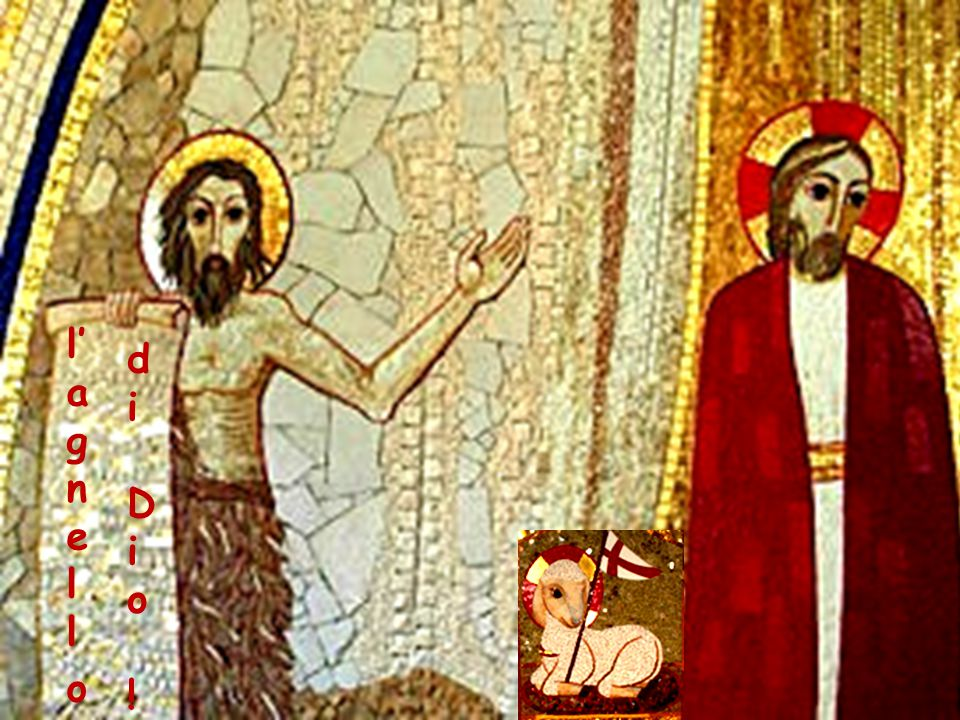 E i suoi due discepoli sentendolo parlare così, seguirono Gesù.