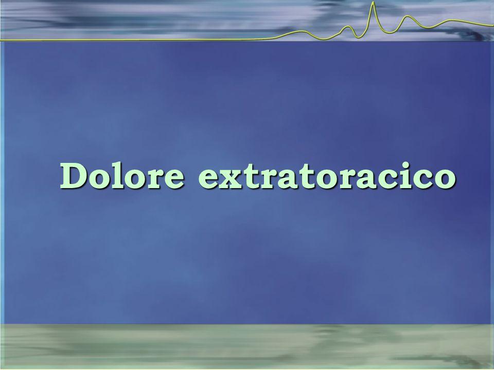 Dolore extratoracico