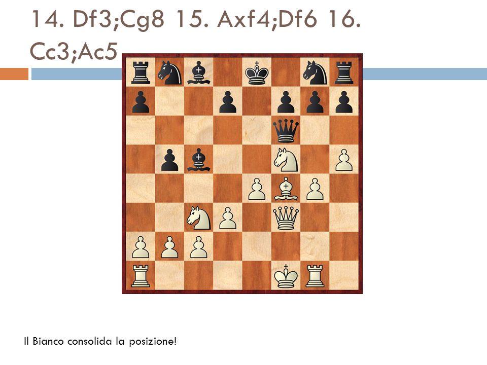 17.Cd5;Dxb2 18. Ad6;Dxg1+ 19. Re2;Axg1?. Più forte è 19.