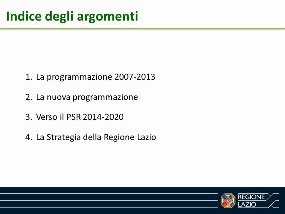 Zonizzazione regionale - Alcune considerazioni - La zonizzazione assume carattere preclusivo esclusivamente per gli interventi previsti nella Priorità 6 dello sviluppo rurale.