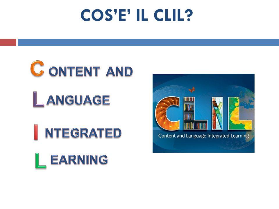 GROUP WORK Pianificare una lezione/sequenza CLIL: Usando la Scheda Progettare una lezione/sequenza CLIL, provate ad abbozzare una lezione che utilizzi questa metodologia.