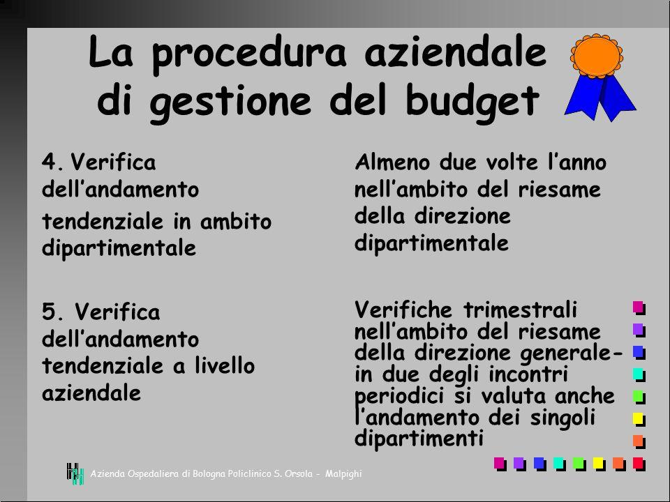 Azienda Ospedaliera di Bologna Policlinico S. Orsola - Malpighi