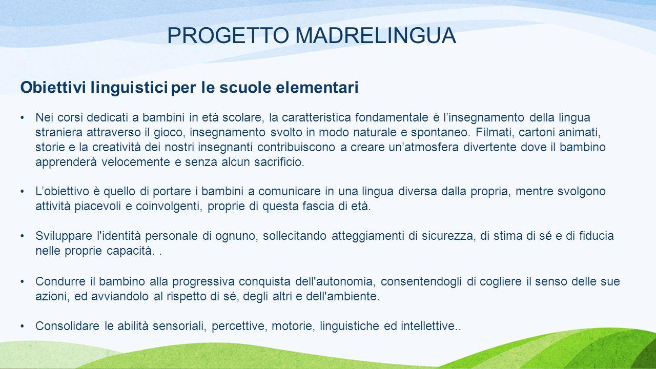 La Proposta Il progetto avrà inizio a ottobre 2014 e terminerà a maggio 2015.