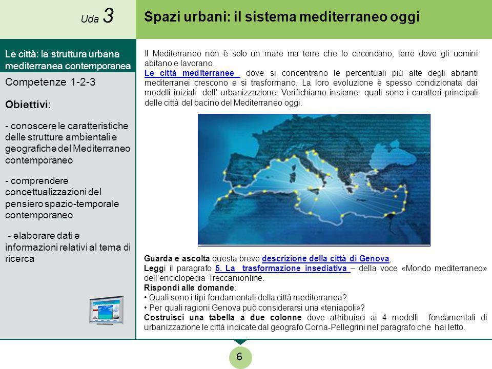 Spazi urbani: il sistema mediterraneo oggi Guarda e ascolta questa breve descrizione della città di Genova,.descrizione della città di Genova Leggi il