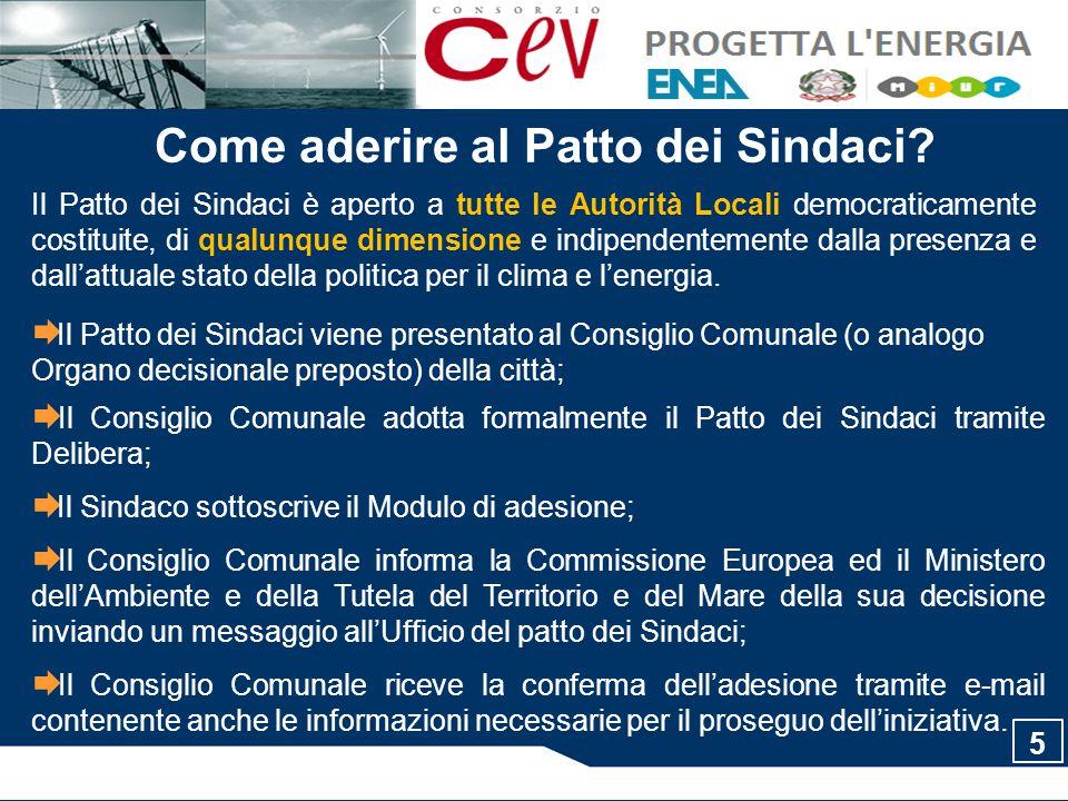 I numeri del Patto dei Sindaci Aggiornamento Aprile 2011 www.eumayors.eu Circa 2.490 Comuni in Europa 1.025 Comuni Italiani hanno già aderito al Patto 26