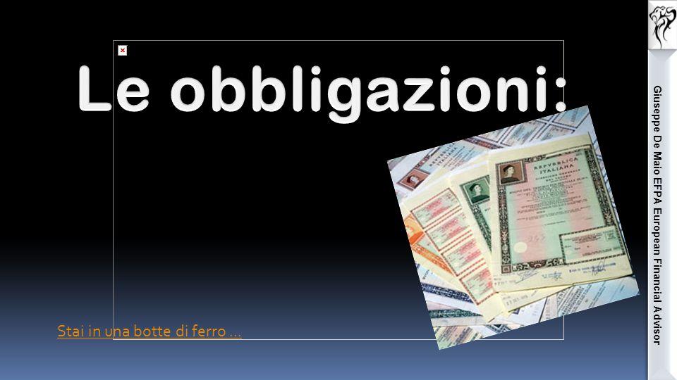 Giuseppe De Maio EFPA European Financial Advisor I consumatori e aziende sono incentivati a posporre gli acquisti di beni e servizi non indispensabili.