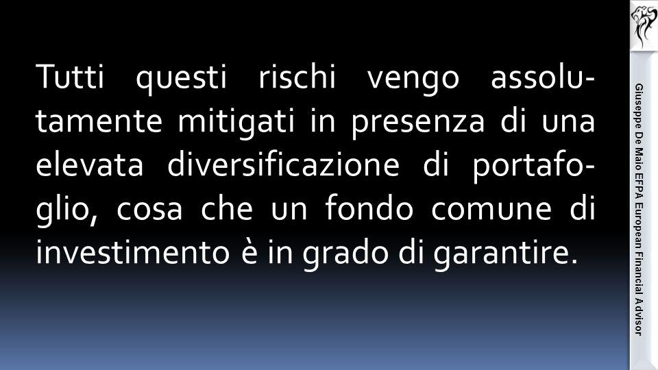 Giuseppe De Maio EFPA European Financial Advisor Rischio tasso Rischio liquidità Rischio emittente S o l u z i o n e .