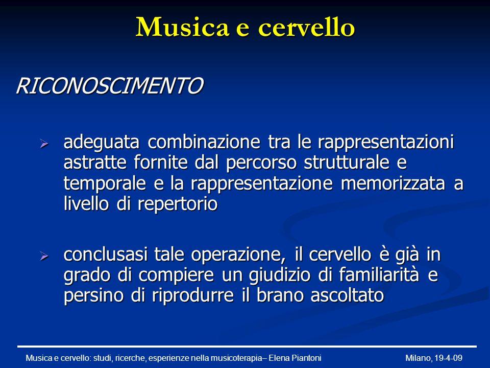 Che ruolo giocano le emozioni nell'ascolto di un brano musicale.
