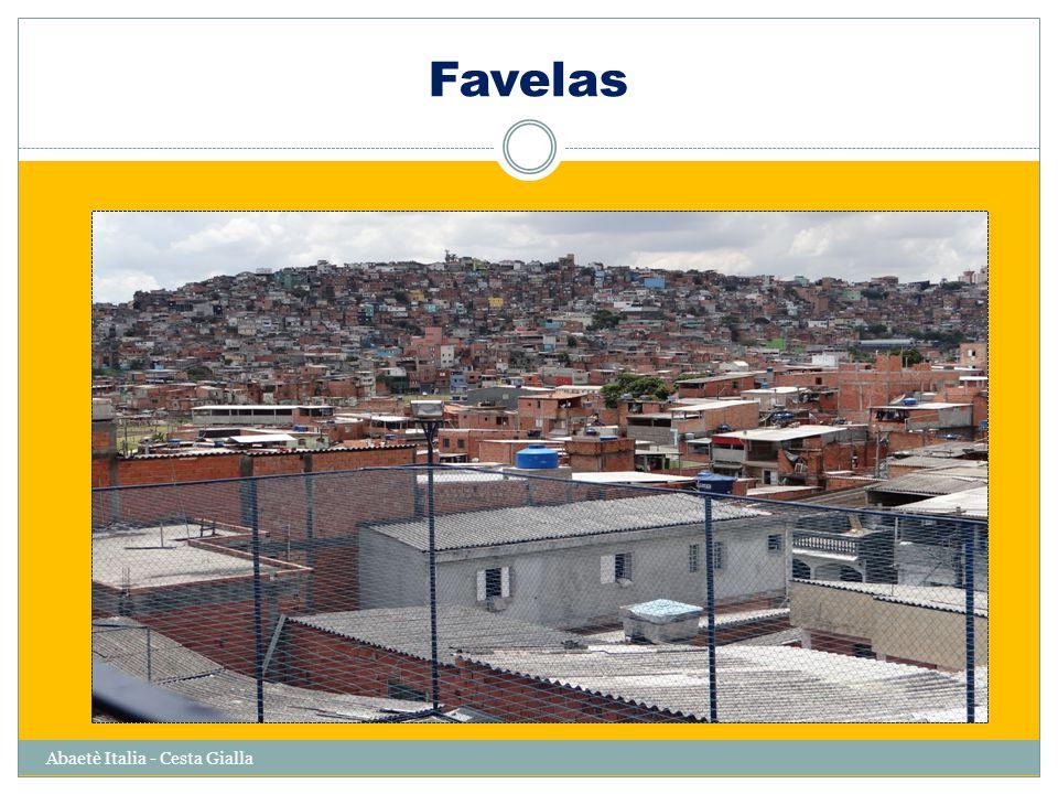 Favelas Abaetè Italia - Cesta Gialla