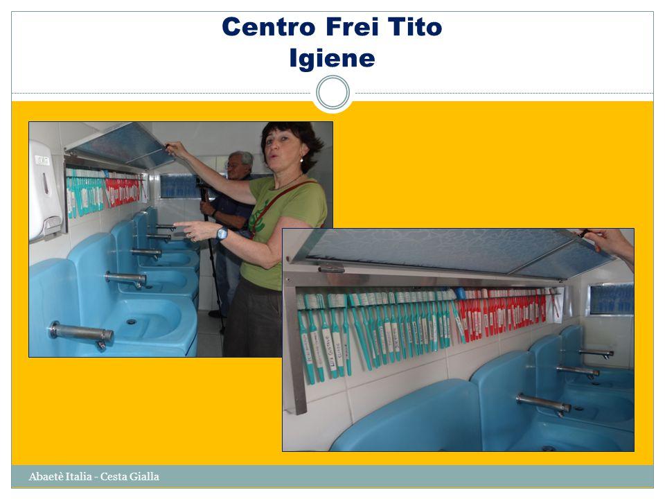 Centro Frei Tito Igiene Abaetè Italia - Cesta Gialla