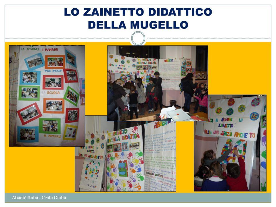 Abaetè Italia - Cesta Gialla Centro Colonia Venezia Consegna Disegni Mugello