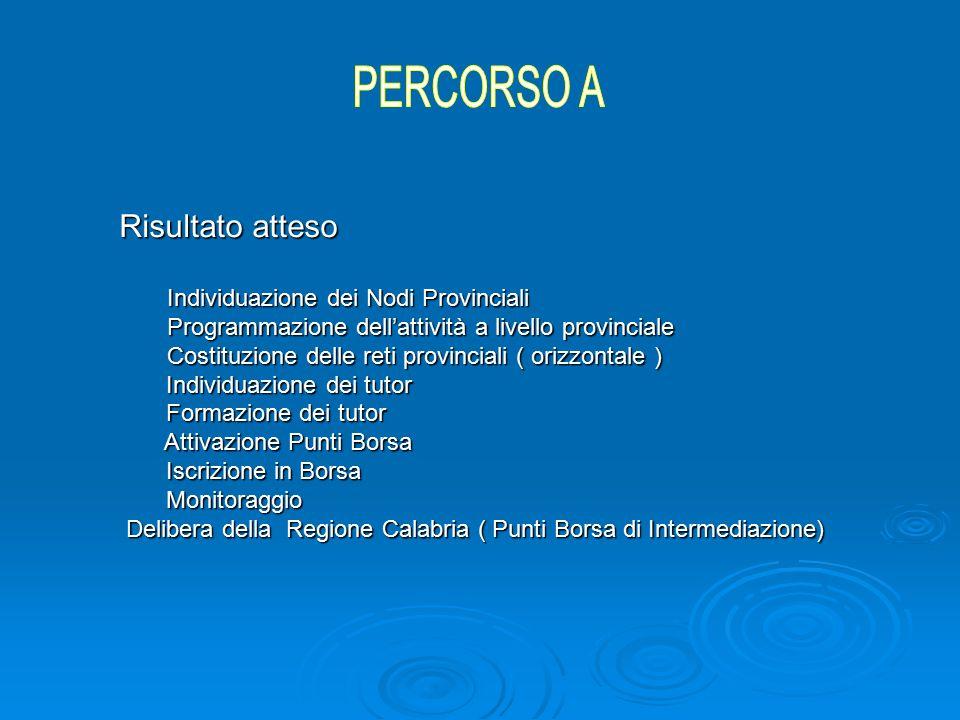 AVVIO ATTIVITÀ 26 MARZO 2008 SEMINARIO DI LANCIO CROTONE PARTECIPAZIONE MIUR USR CALABRIA USP KR ISTITUTI INDIVIDUATI DALL'USR ITALIA LAVORO CENTRI PER L'IMPIEGO REFERENTI PROVINCIA DI CROTONE