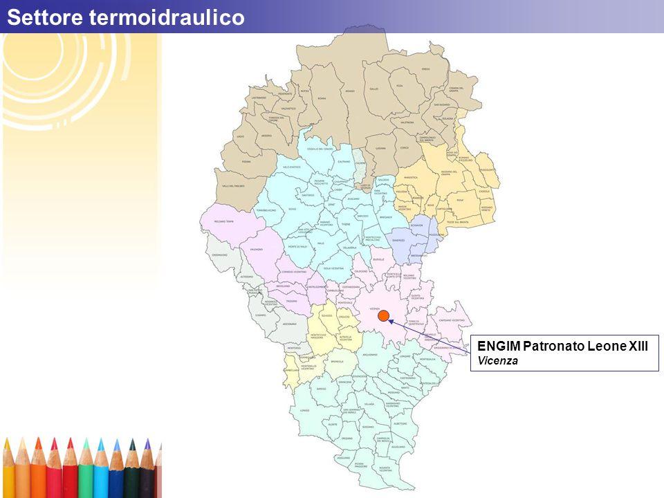 ENGIM Patronato Leone XIII Vicenza Settore termoidraulico