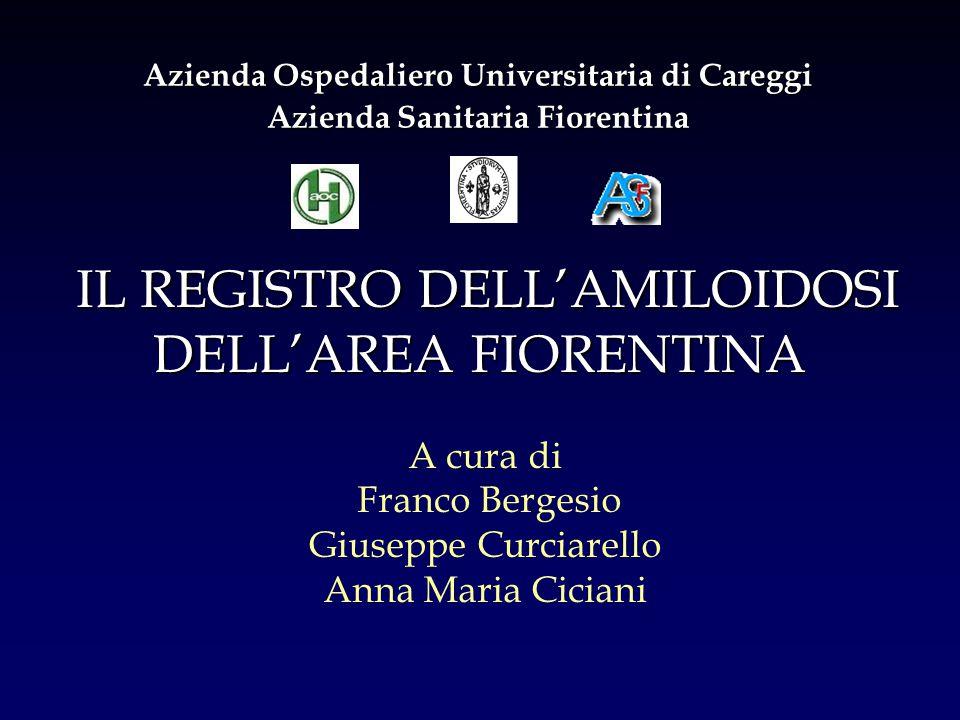 A cura di Franco Bergesio Giuseppe Curciarello Anna Maria Ciciani Azienda Ospedaliero Universitaria di Careggi Azienda Sanitaria Fiorentina IL REGISTR