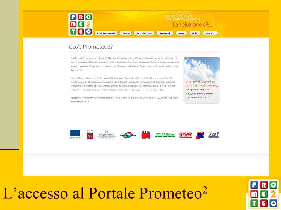 L'accesso al Portale Prometeo 2 2