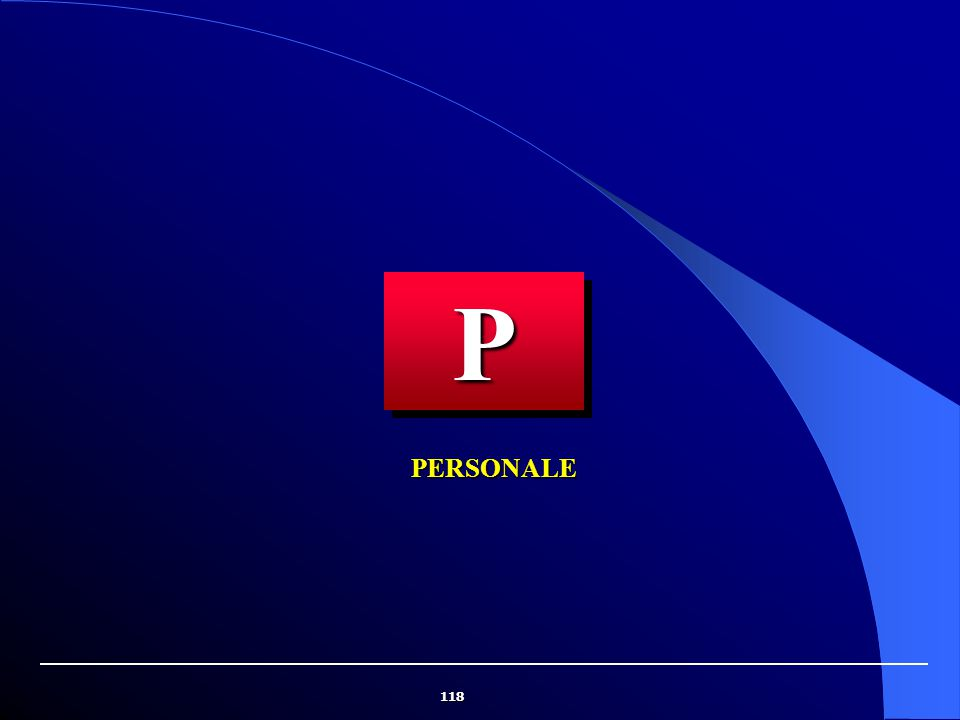 118 PERSONALE PP