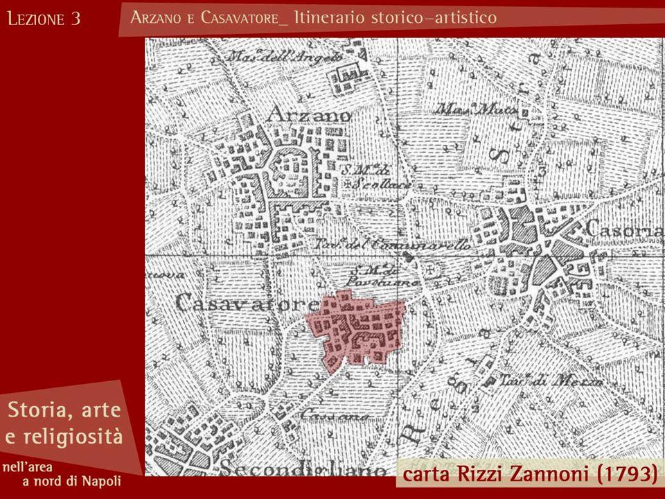 Chiesa di S.Agrippino (Arzano) Le prime notizie risalgono alla santa visita del 1542.