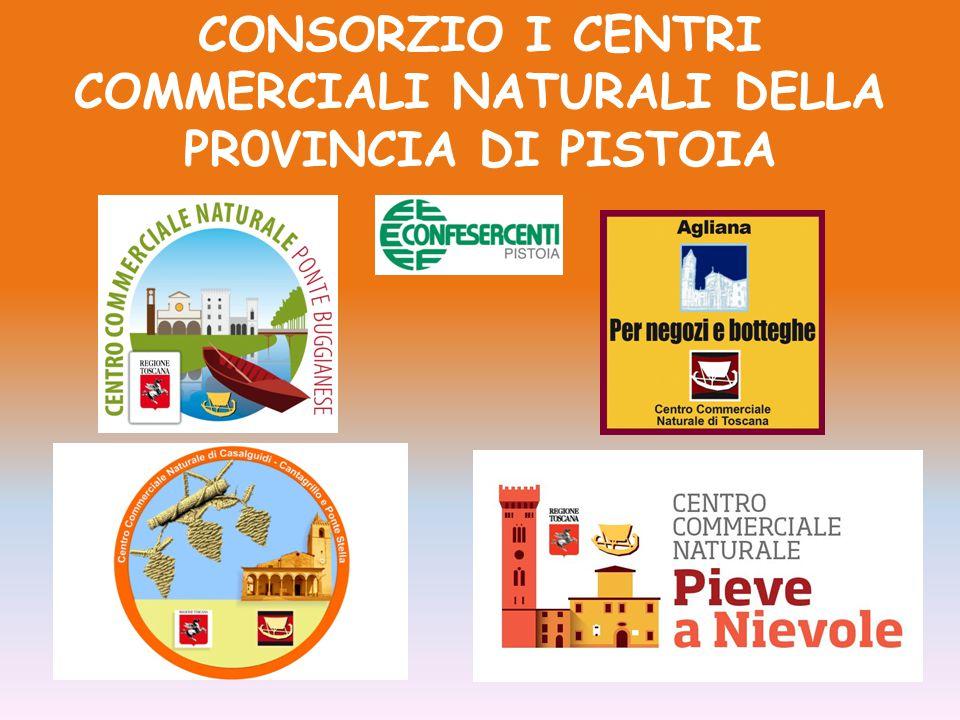 CONSORZIO I CENTRI COMMERCIALI NATURALI DELLA PR0VINCIA DI PISTOIA