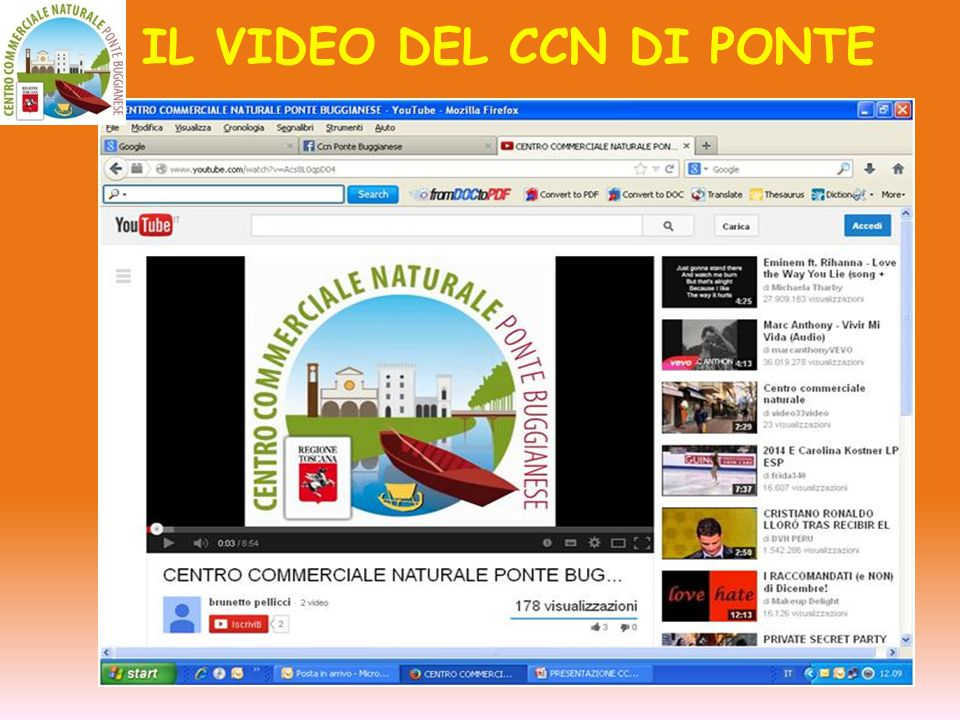 IL VIDEO DEL CCN DI PONTE