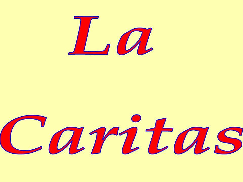 La Caritas è l' organismo pastorale della Chiesa che educa ad essere segno dell'amore di Dio Il principale compito della Caritas è quello di sensibilizzare la comunità a testimoniare la carità con gesti di attenzione, accoglienza e partecipazione nei confronti di chi si trova in difficoltà.