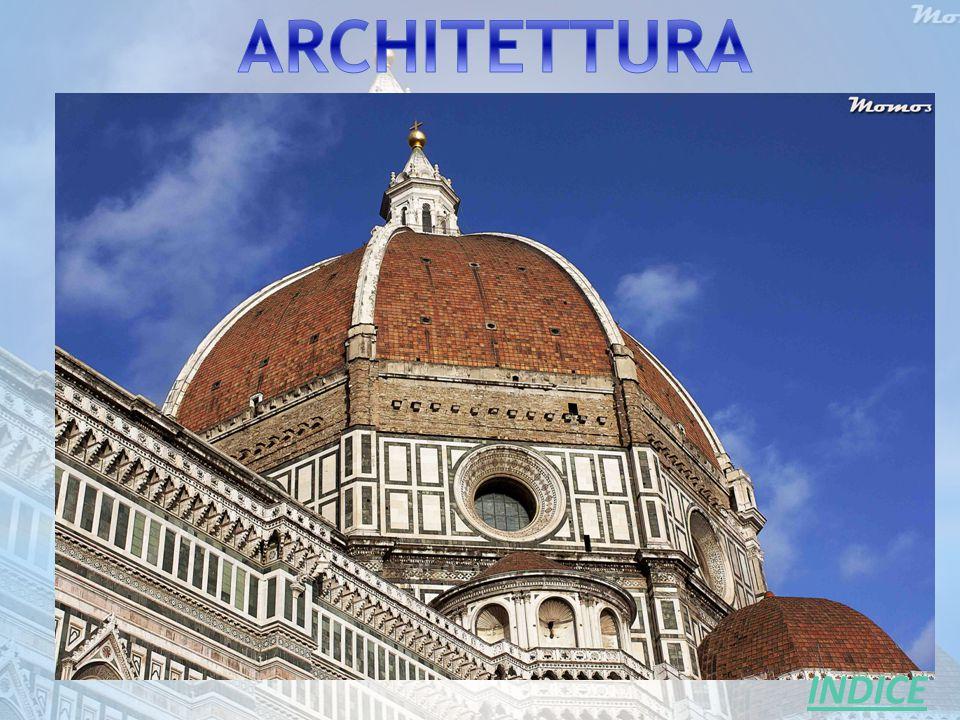 Le origini e le caratteristiche dell'architettura umanistica hanno origine e si sviluppano a Firenze a partire dai primi anni del `400 e tre fiorentini ne sono gli iniziatori e i massimi esponenti.