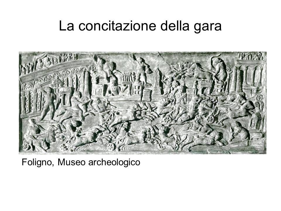 La concitazione della gara Foligno, Museo archeologico