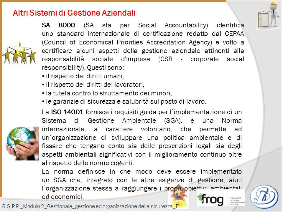 La ISO 14001 fornisce i requisiti guida per l´implementazione di un Sistema di Gestione Ambientale (SGA).