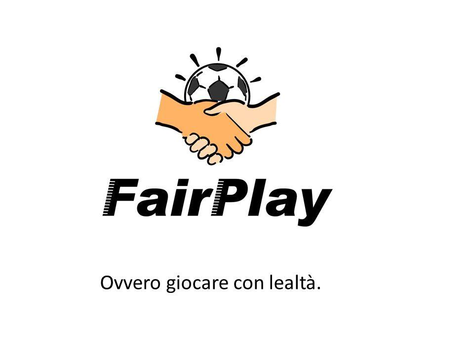 Fair play (comportamento) L espressione inglese fair play (lett.