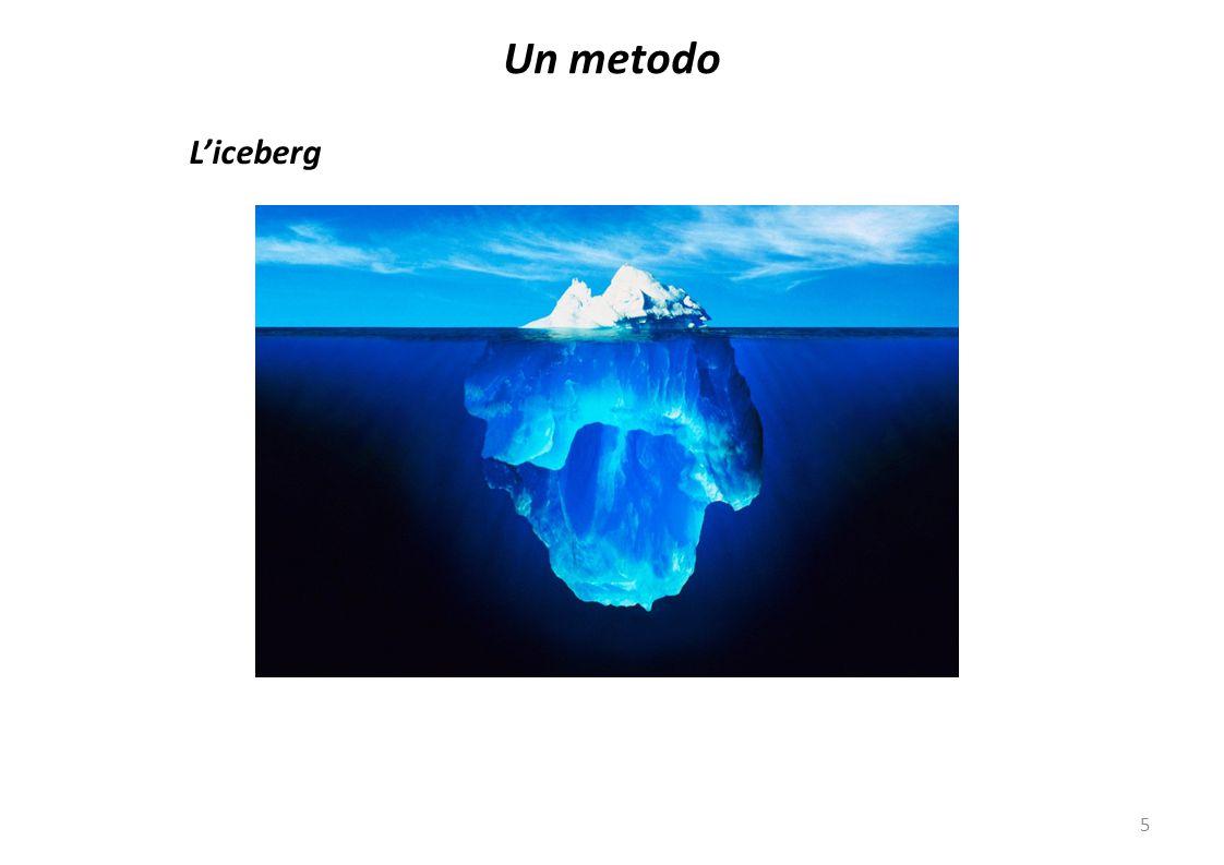 5 L'iceberg Un metodo