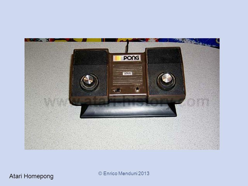 Atari Homepong © Enrico Menduni 2013