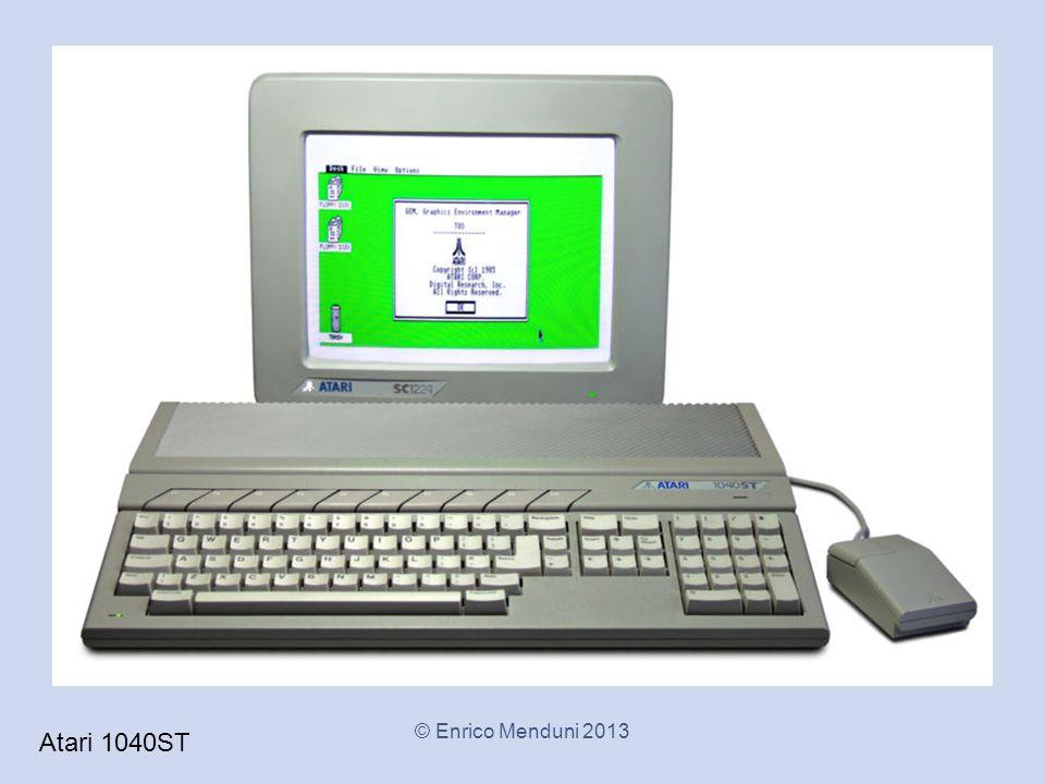 Atari 1040ST © Enrico Menduni 2013