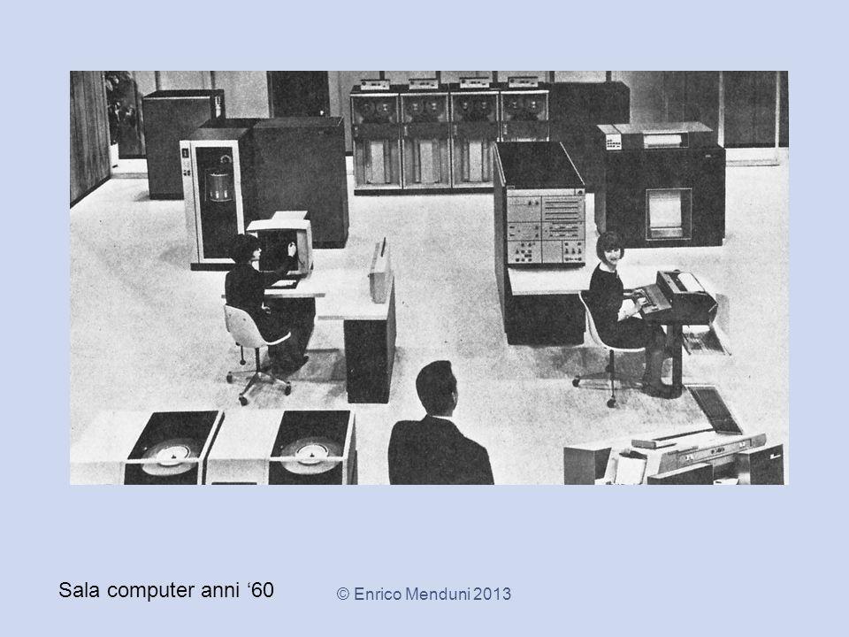 Sala computer anni '60 © Enrico Menduni 2013