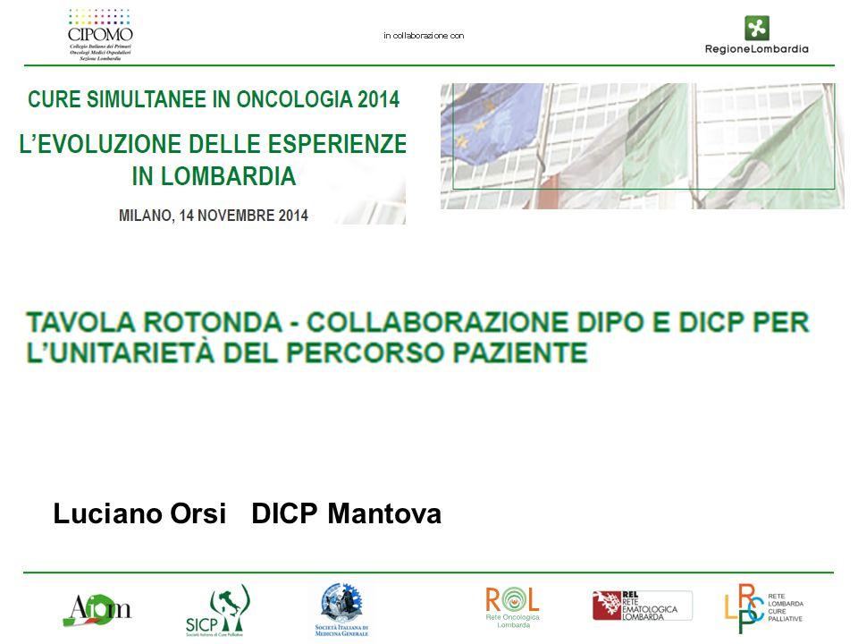 Luciano Orsi DICP Mantova
