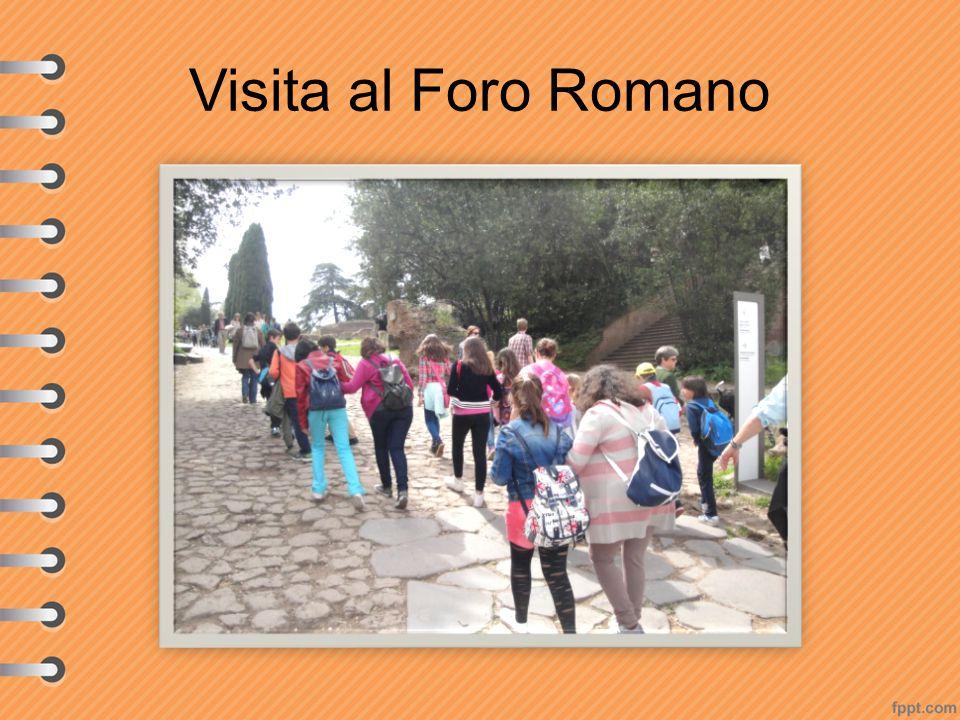 Visita al Foro Romano