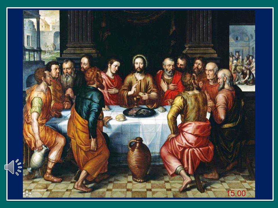 Questa sera, anche noi siamo attorno alla mensa del Signore, alla mensa del Sacrificio eucaristico, in cui Egli ci dona ancora una volta il suo Corpo, rende presente l'unico sacrificio della Croce.