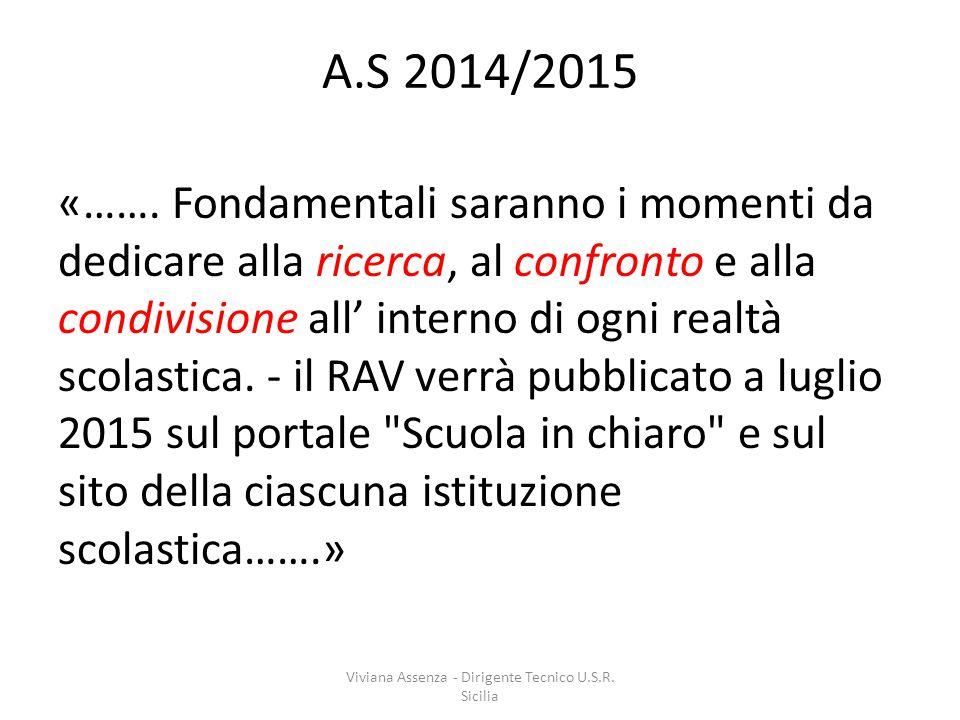 A.S 2014/2015 «…….