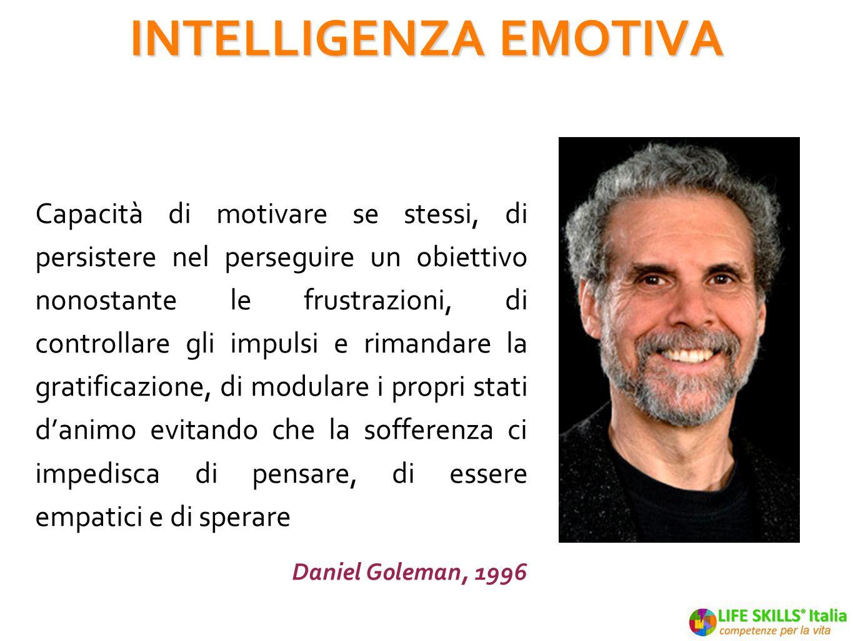 Intelligenza Emotiva è capacità di integrare pensieri ed emozioni per decisioni sostenibili Six Seconds -2001 INTELLIGENZA EMOTIVA - definizione pratica INTELLIGENZA EMOTIVA