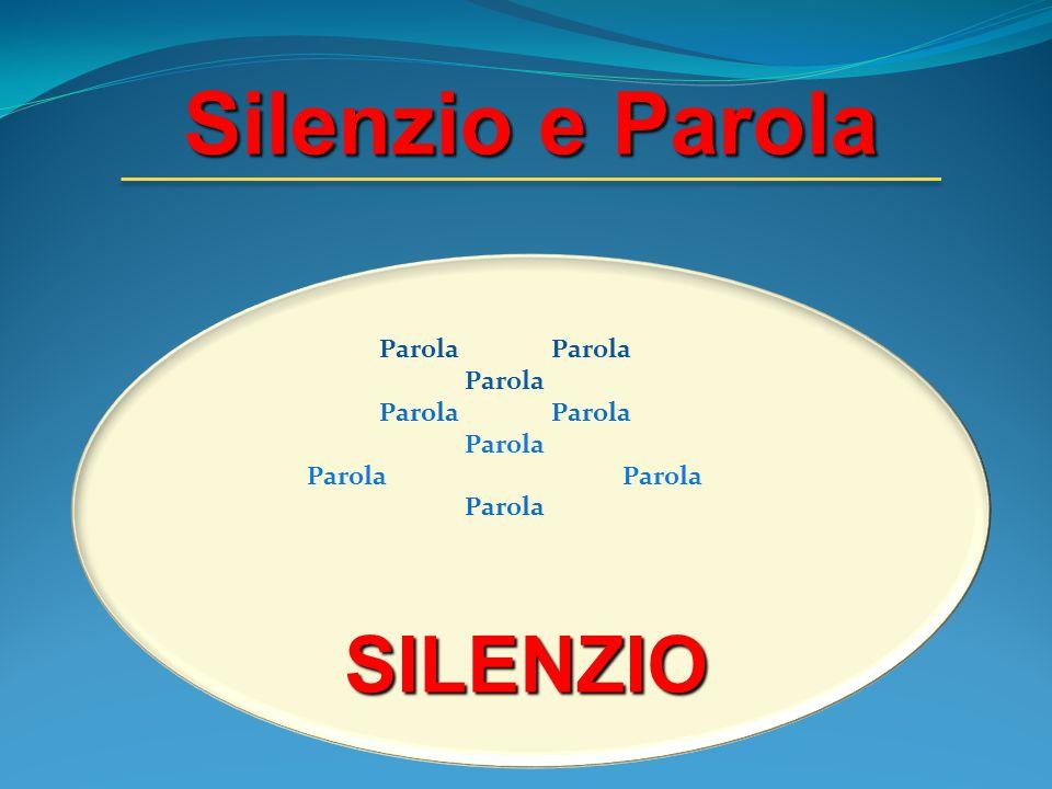 Silenzio e Parola SILENZIO Parola
