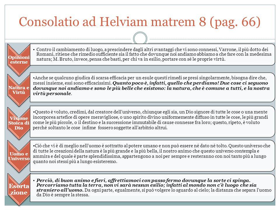 Consolatio ad Helviam matrem 8 (pag.