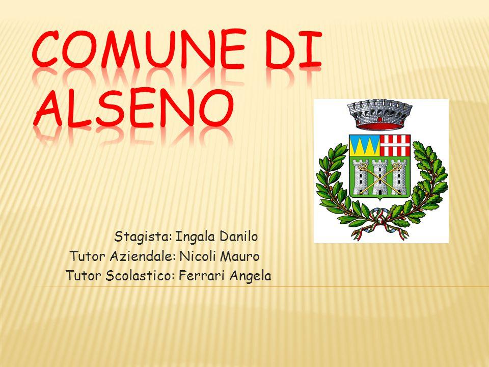 Stagista: Ingala Danilo Tutor Aziendale: Nicoli Mauro Tutor Scolastico: Ferrari Angela