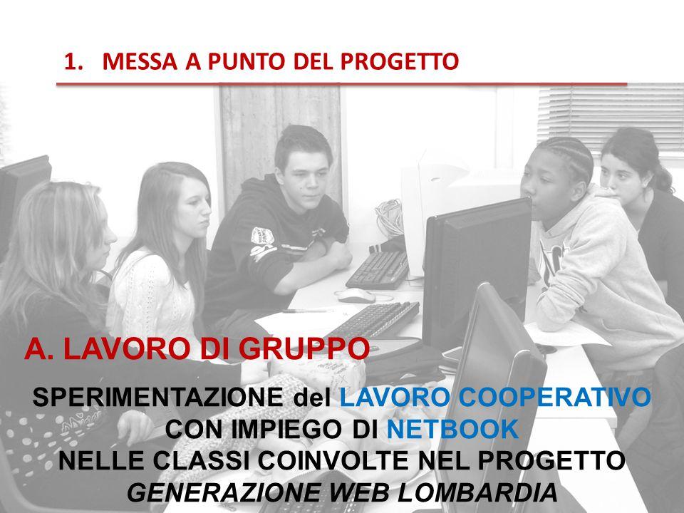 1.MESSA A PUNTO DEL PROGETTO A.