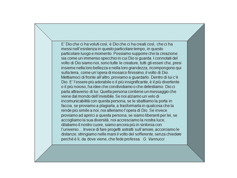 LABORATORIO Luogo di ricerca e sperimentazione (riferimenti etimologici) Luogo di ricerca e sperimentazione per tutti gli attori implicati: formatori e formati Dal punto di vista teologico L'essere di ciascuno come credente viene messo al centro Dal punto di vista pedagogico Informazione: accumulo di conoscenze Addestramento; saper fare funzionale Trasformazione (laboratorio): intervento sulla persona nella sua globalità
