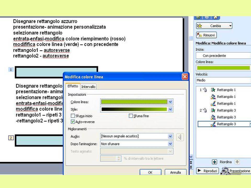 Disegnare disco azzurro-presentazione-animazione personalizzata selezionare disco-aggiungi-percorsi animazione-altri percorsi-esagono ovale1 :autoreverse.