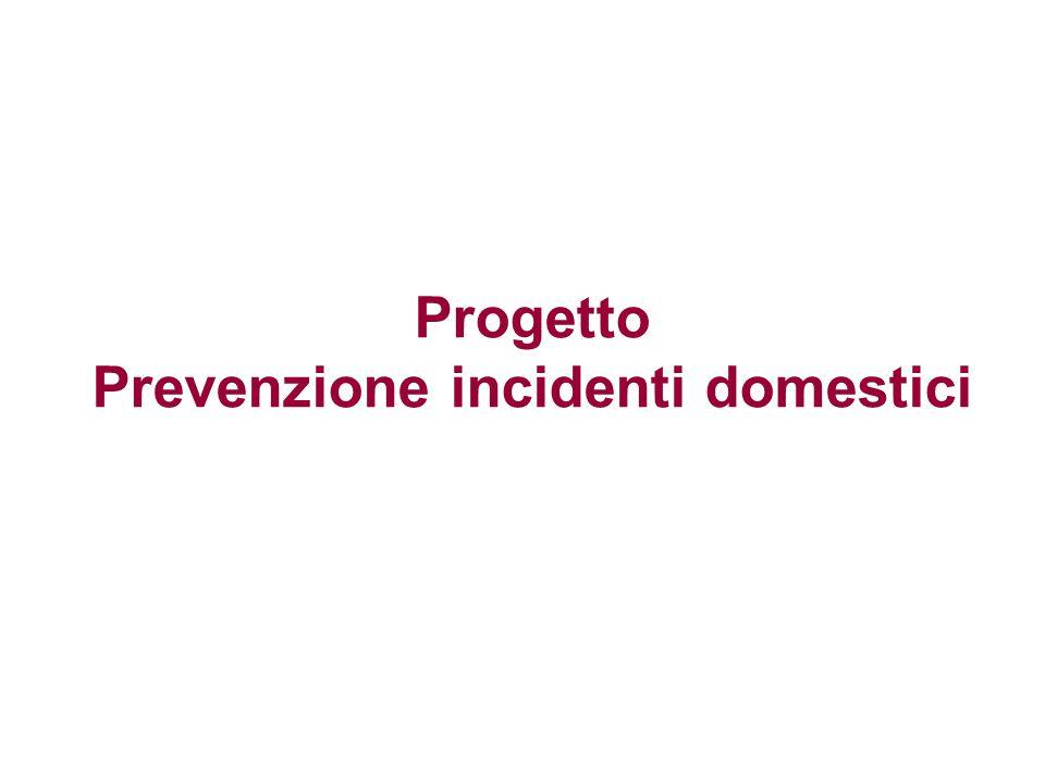 Progetto Prevenzione incidenti domestici