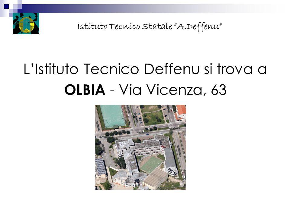 """L'Istituto Tecnico Deffenu si trova a OLBIA - Via Vicenza, 63 Istituto Tecnico Statale """"A.Deffenu"""""""