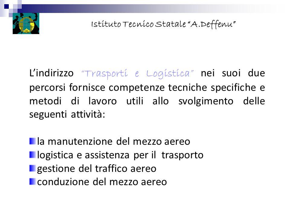 """L'indirizzo """"Trasporti e Logistica"""" nei suoi due percorsi fornisce competenze tecniche specifiche e metodi di lavoro utili allo svolgimento delle segu"""