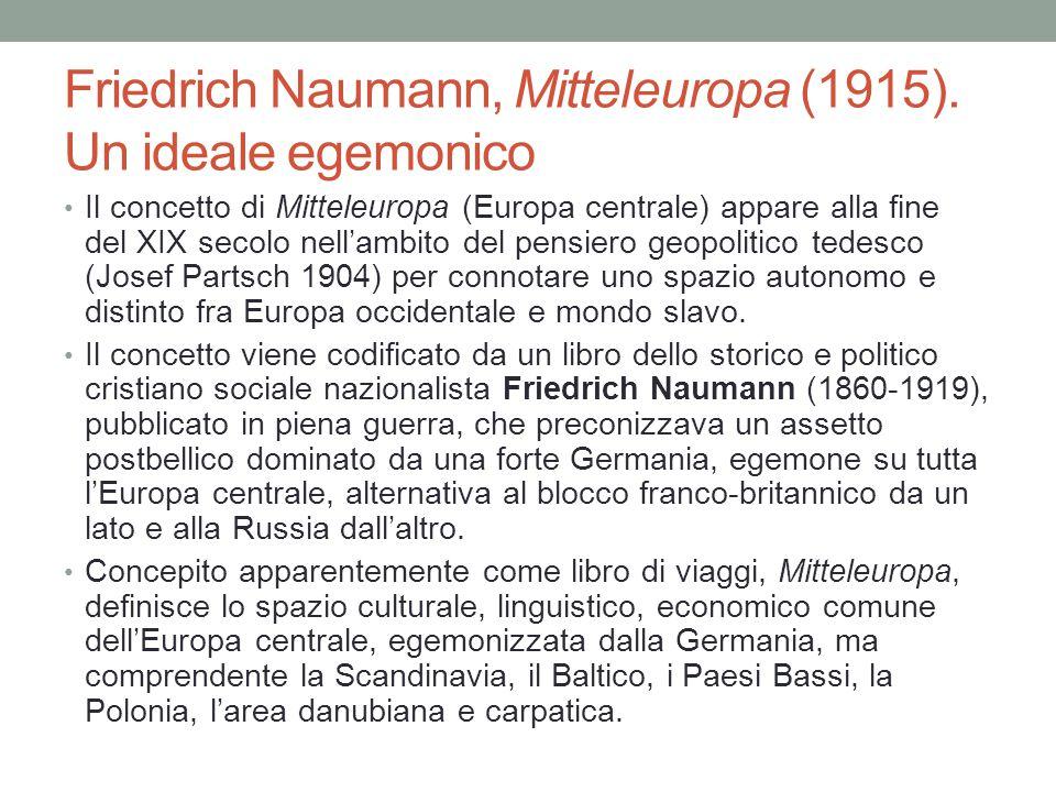 Friedrich Naumann, Mitteleuropa (1915).