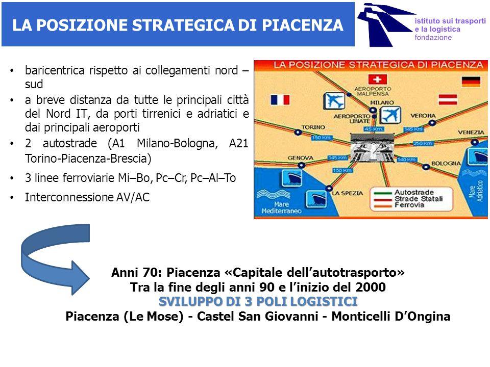 IL POLO LOGISTICO DELLA CITTA' Il Polo LE MOSE nasce ufficialmente nel 1997, il nucleo iniziale si costituisce tra il 1998 e il 2001 con l'insediamento di IKEA, il consorzio Piacenza Intermodale e Pro- Logis (società immobiliare).
